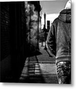 Following Metal Print