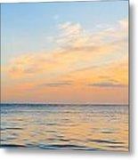Folly Beach Lighthouse Metal Print