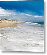 Folly Beach Scenic Walk Metal Print