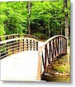 Folsom Bridge 2 Metal Print
