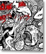 Fondling Coral..endangers Lives Metal Print