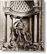 Fontana Di Trevi Metal Print