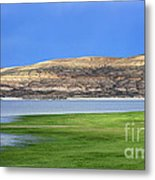 Fontenelle Reservoir Summer Thunderstorm  Metal Print