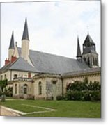 Fontevraud Abbey -  France Metal Print