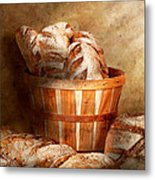 Food - Bread - Your Daily Bread Metal Print by Mike Savad