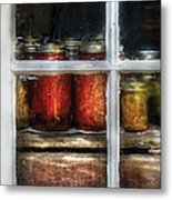 Food - Country Preserves  Metal Print by Mike Savad