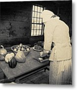 Food From The Garden Metal Print