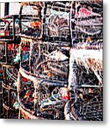 Food From The Sea Metal Print