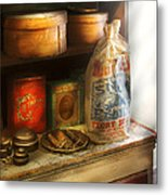 Food - Kitchen Ingredients Metal Print