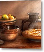 Food - Pie - Mama's Peach Pie Metal Print