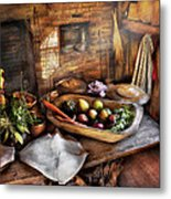 Food - The Start Of A Healthy Meal  Metal Print