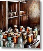 Food - The Winter Pantry  Metal Print by Mike Savad