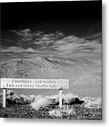 Foot And Horse Traffic Only Metal Print
