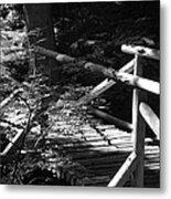Foot Bridge Metal Print
