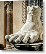 Foot Of Constantine Metal Print