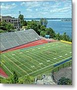 Football Field By The Bay Metal Print