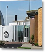 Football Hall Of Fame In Canton Metal Print