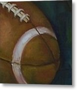 Football No. 1 Metal Print