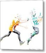 Football Season Metal Print