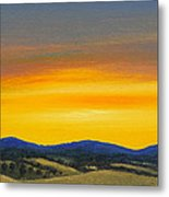 Foothills Sunrise Metal Print