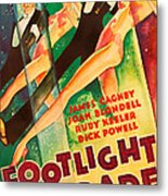 Footlight Parade, Dick Powell, Joan Metal Print