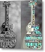 For American Guitars  Metal Print