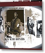 For And Against War Ww1 Ww2 Vietnam 1971-2012 Metal Print