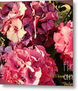 For I Know The Plans Metal Print
