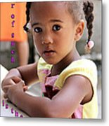 For Of Such... - Haitian Child 1 Metal Print