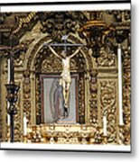 For Our Sins Metal Print