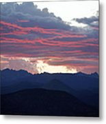 For Purple Mountains Majesty Metal Print