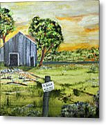 For Sale By Owner Metal Print