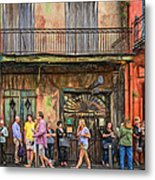 For The Love Of Jazz Metal Print