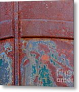 For The Love Of Rust II Metal Print