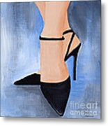 For The Love Of Shoes Metal Print