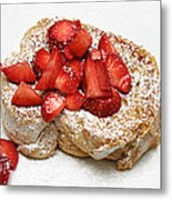 For The Love Of Strawberries Metal Print