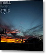 For The Love Of The Game Metal Print