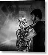 Forbidden Love Vanishing Memory Machine 2 Metal Print