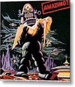 Forbidden Planet 1956 Metal Print