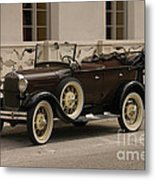 Ford Convertible 01 Metal Print