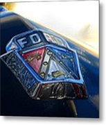 Ford Crest Metal Print