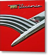 Ford Crown Victoria Emblem Metal Print