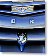 Ford F-1 V8 Truck Front End Metal Print