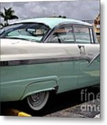 Ford Fairlane Profile Metal Print by Andres LaBrada