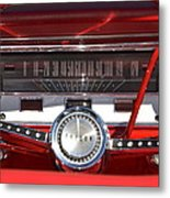Ford Falcon Dash Metal Print