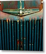 Ford Grille Metal Print
