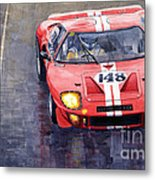Ford Gt 40 24 Le Mans  Metal Print