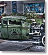 Ford Hot Rod Metal Print