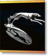 Ford Lincoln Greyhound Mascot Metal Print