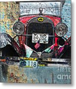 Ford Model A 1928 Oldtimer Metal Print